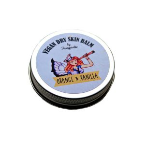 Orange and Vanilla Dry Skin Balm