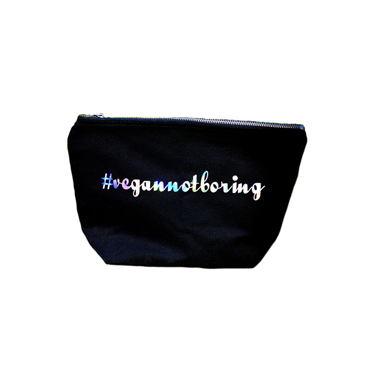Vegannotboring Cosmetic Bag