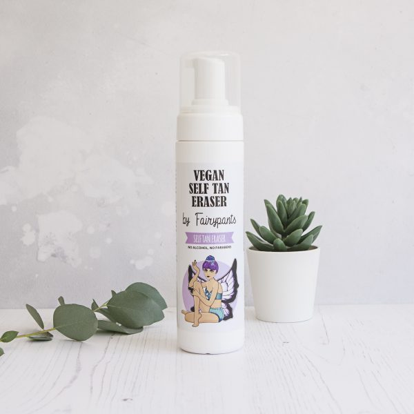 Vegan and Cruelty free fake tan remover